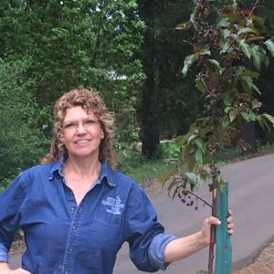 Robyn and New Crab Apple
